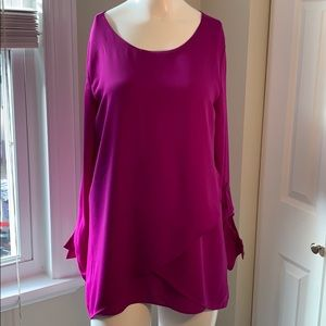 The Limited pink/purple blouse size Small